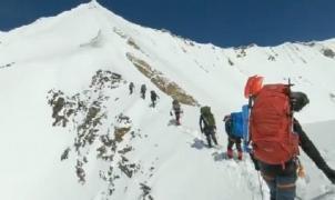 Un vídeo registra los últimos momentos de 8 alpinistas fallecidos en el Himalaya