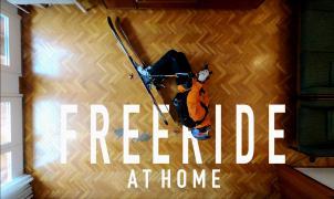 """La historia del vídeo viral de un barcelonés que triunfa en el encierro: """"Freeride at Home"""""""