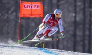 Carlo Janka domina con mano de hierro el supergigante de Jeongseon