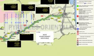 La RN116, la carretera de los esquiadores de Perpignan, continúa cerrada
