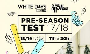 Test de snowboard WhiteDays en Madrid SnowZone
