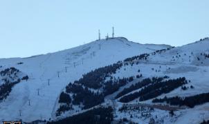 A la carrera para que las estaciones de esquí de Aragón estén listas el Puente de diciembre