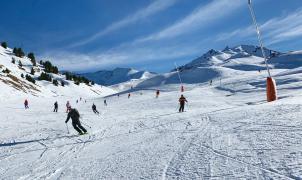 Cerler abre el telesilla Rincón del Cielo y mantiene los 31 km de pistas esquiables