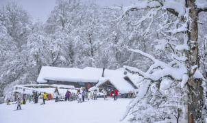 Chapelco se viste de blanco con la espectacular nevada
