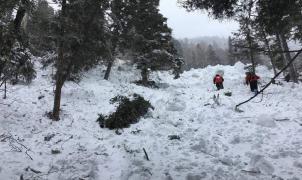 Una joven sobrevive a una avalancha de nieve que la sepultó dentro de su casa mientras leía