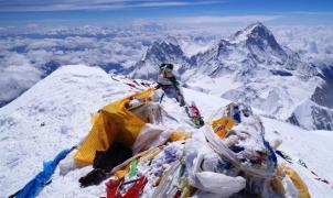 Cumbre del Everest. Zac Poulton