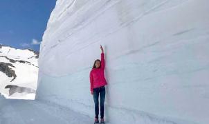 Una entrada de frío ártico histórica provoca granizo, nieve y fuertes vientos en media Europa