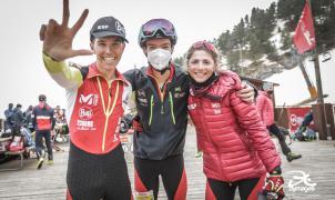 Los corredores de Suiza e Italia, protagonistas en Arinsal en la prueba Relay Race