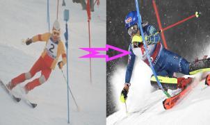 Vídeo: La evolución del slalom entre 1960 y hasta la actualidad en dos minutos