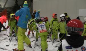 Madrid SnowZone celebra en sus pista el VIII trofeo de esquí Indoor