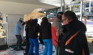 Los trabajadores de las estaciones de esquí de FGC deben quedarse en casa