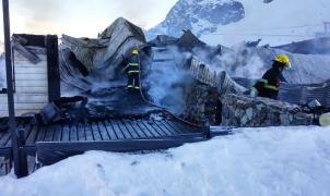 La confitería de la Hoya fue incendiada de forma intencionada rociándola con gasoil