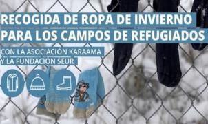 Copos 40 aniversario con los refugiados en Grecia