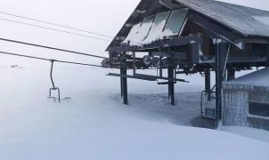 El centro de esquí Corralco llega a los 5 metros de nieve acumulada, unos registros históricos