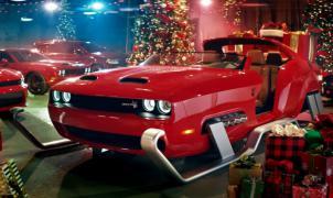 Nuevo trineo con 800 caballos para Papá Noel