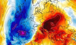 ¡Llega un cóctel explosivo!, una masa muy fría avanzará sobre media España con lluvias y nevadas