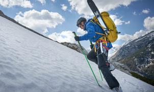 ¿Un esquí plegable y qué funciona? Te contamos cómo es el Elan Ibex Tactix