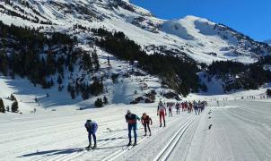 El esquí nórdico de Aragón empezó tarde y mal, pero termina con buenas sensaciones