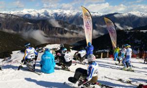 Espot acoge la Copa de Europa IPC 2020 de esquí alpino adaptado
