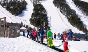 El Pirineo de Lleida despide las fiestas navideñas alcanzando la cifra de los 245.000 forfaits