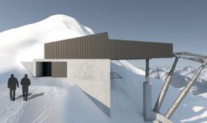 El glaciar de Kaunertal amplía su dominio esquiable con un nuevo telecabina en el Weißseejochbahn