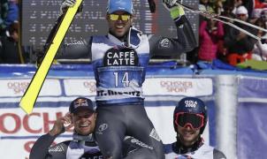 Thomas Fanara lidera el pleno de la Armada Tricolor en el Gigante de St. Moritz