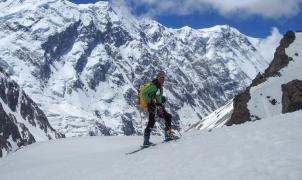 Ferran Latorre inicia el largo ataque a la cima del Nanga Parbat (8.126m)