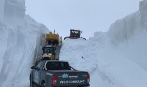 Fonna confirma su apertura para el 1 de mayo con una base de nieve acumulada de 12 metros