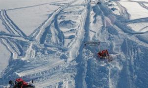 Más de 11 metros de nieve garantizan el esquí en Fonna cuando se levante el confinamiento