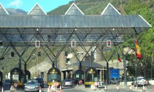 Frontera abierta entre España y Andorra, pero sin turistas