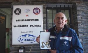 """Falleció Ángel González de Lena """"Gelito"""". Gran impulso del esquí asturiano"""