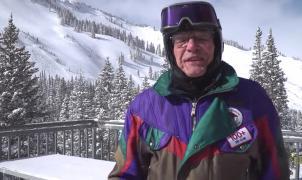 ¿Hasta qué edad te ves esquiando? El esquiador más viejo del mundo tiene 102 años y medio