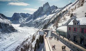 Chamonix presenta el futuro telecabina entre Montenvers y el glaciar Mer de Glace