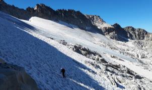 Los glaciares de los Pirineos, los últimos de España, tienen la muerte anunciada en pocas décadas