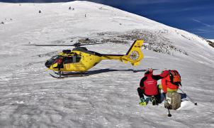 Tres esquiadores atrapados por una avalancha en un fuera pistas muy conocido de la Val d'Aran