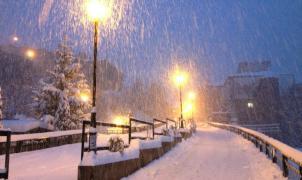 Imagen de la nevada en Andorra el 15 de enero del 2013