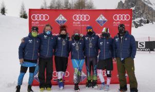 7 medallas españolas en el FIS World Criterium Masters en Cortina d'Ampezzo