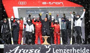 """Los """"HEAD World Cup Rebels"""" vuelven a la competición en Sölden"""