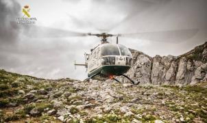 Tres fallecidos en el accidente de un helicóptero durante un rescate en León