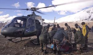 29 muertos en Nepal tras el paso del Ciclón Hudhud por el Himalaya