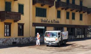 Un hotel de Cortina d'Ampezzo demanda a China por daños y perjuicios en el turismo