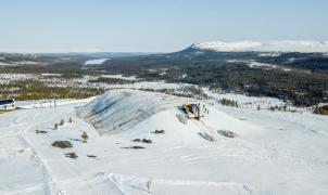 Empieza snow farming en Europa para almacenar nieve y poder avanzar la temporada de esquí
