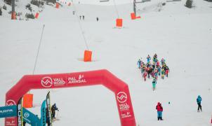 Se disputa la Vertical Race, prueba reina de los Campeonatos del Mundo en Andorra