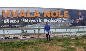 ¿Sabias que Novak Djokovic prefería el esquí al tenis? Ahora tiene una pista su nombre