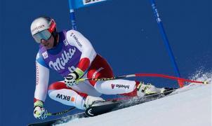 Aleksander Kilde se corona rey del supergigante en St. Moritz