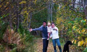 Kilian Jornet y Emelie anuncian que volverán a ser padres con una foto preciosa