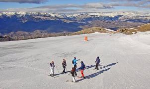 La Molina llega a los 35 km abiertos este fin de semana con hasta 60 cm en cotas altas