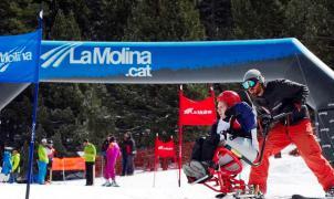 La Molina: una estación adaptada para esquiadores con movilidad reducida