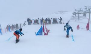 La Molina estrena el Dual Banked Slalom de la Copa del Mundo IPC de ParaSnowboard