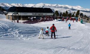 Masella presenta 71 km esquiables y unos espesores de nieve excelentes para el puente